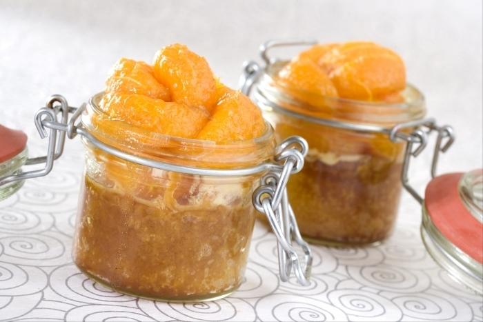 Recette de fricassée de mandarines au miel de romarin facile et ...