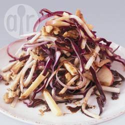 Recette salade de chou rouge au céleri et à l'édam – toutes les ...