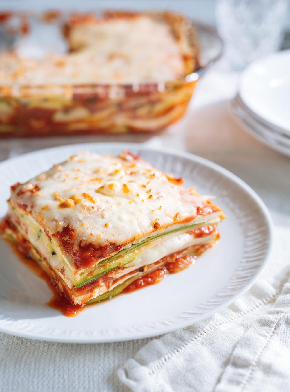 Courgettes et tofu alla parmigiana | ricardo