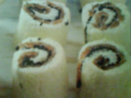 Recette de pain au saumon fumé et au oeufs de lump