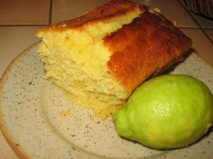 Recette de cake au citron parfumé