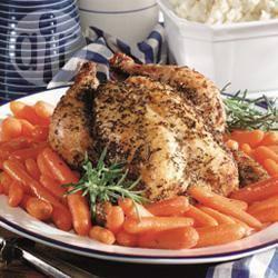 Recette recette facile d'un poulet rôti au romarin – toutes les ...