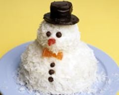 Recette gâteau bonhomme de neige