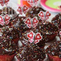 Recette cupcakes à la vanille et nappage chocolat – toutes les ...