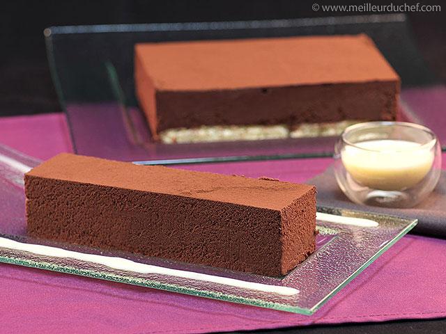 Fondant au chocolat noir  notre recette illustrée  meilleurduchef.com