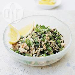 Recette pilaf de saumon aux deux riz et aux petits pois – toutes les ...