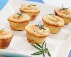 Recette mini muffins aux crevettes roses et curry maison
