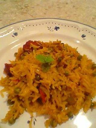 Recette de riz à l'espagnole