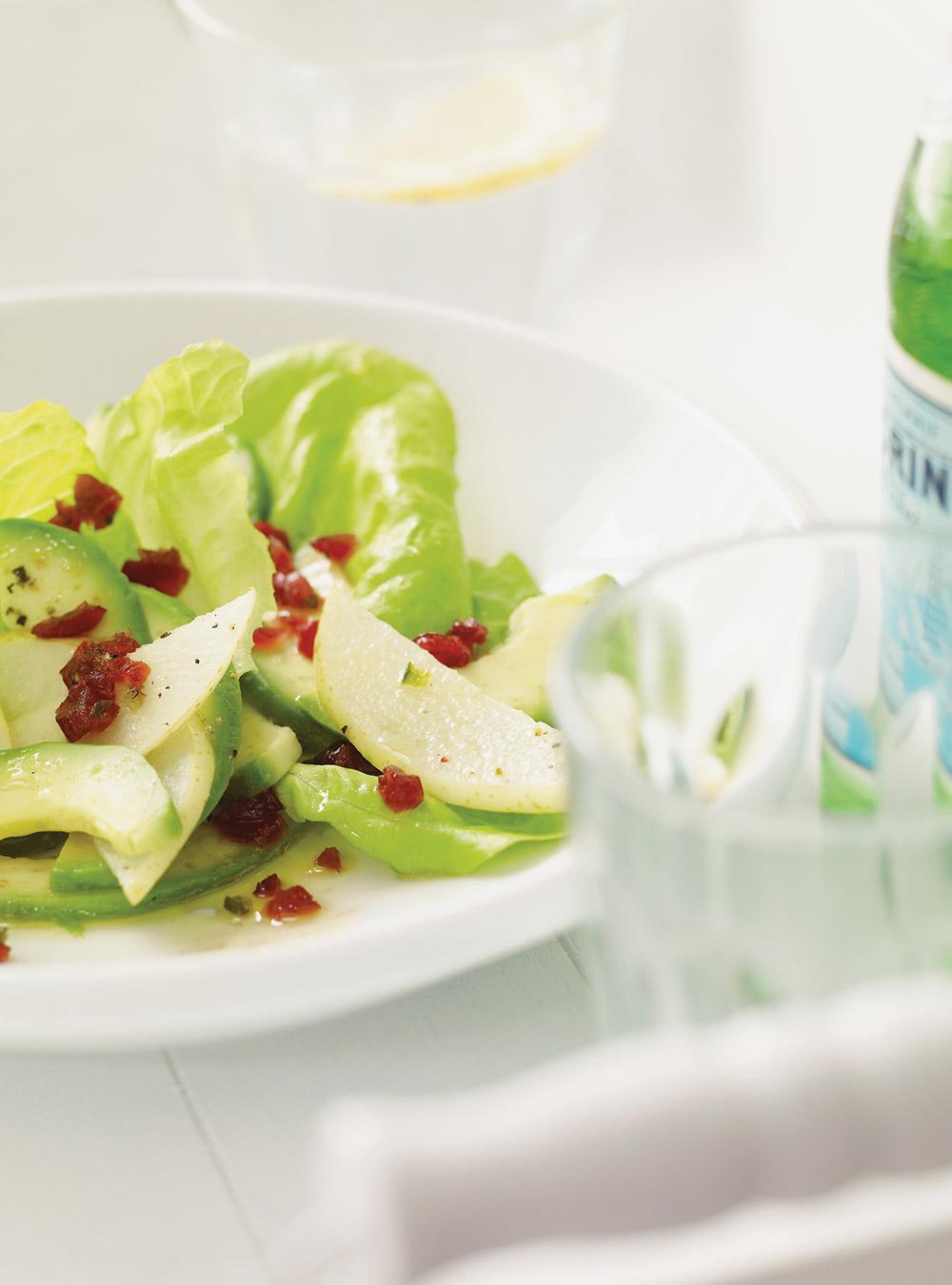 Salade de poire asiatique et d'avocat | ricardo