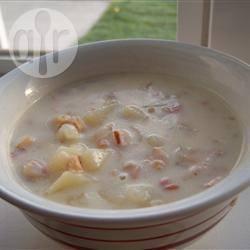 Recette soupe de palourdes américaine ou clam chowder – toutes ...