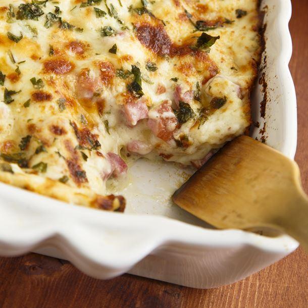 Recette lasagnes façon carbonara