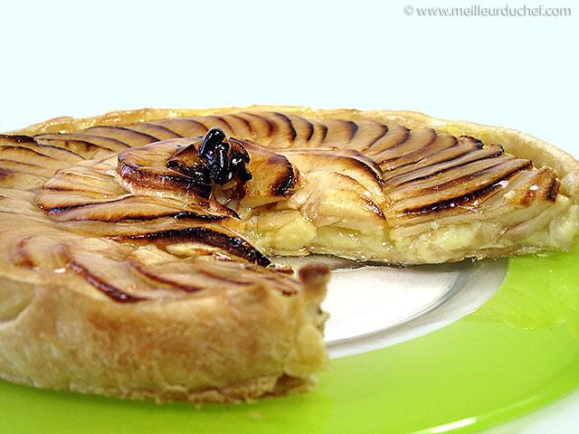 Comment réaliser une belle tarte aux pommes  meilleurduchef.com