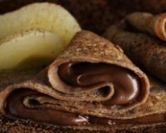 Recette crêpes légères au chocolat noisette