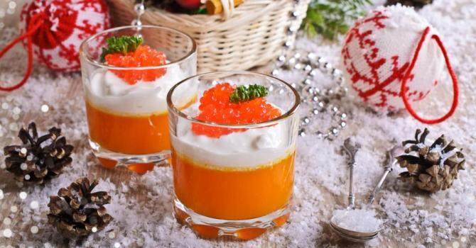 Recette de verrines festives de cappuccino de potiron à moins de ...