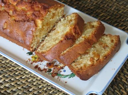 Recette de cake aux écorces d'oranges confites