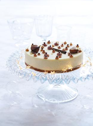 Recette de cheesecake vanille-marrons glacés