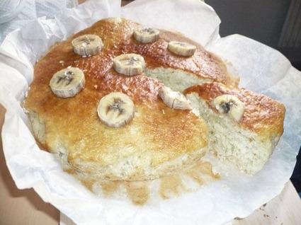 Recette de gâteau au yaourt banane-noix de coco