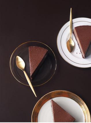 Recette de cheesecake au chocolat noir