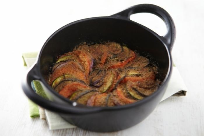 Recette de tian de légumes gratinés à la provencale facile et rapide