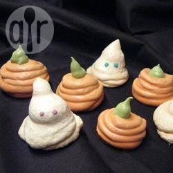 Recette meringues fantômes et citrouilles pour halloween – toutes ...