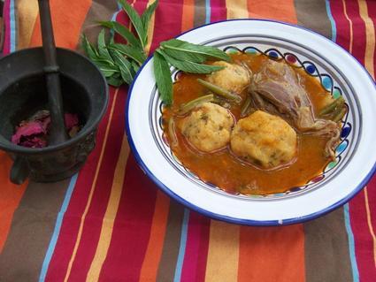 Recette de lasbanne (boulettes de semoule berbères)