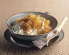 Recette compote pomme-banane au thé