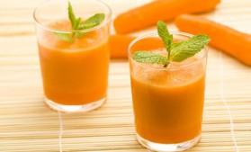 Jus de carottes pour 2 personnes