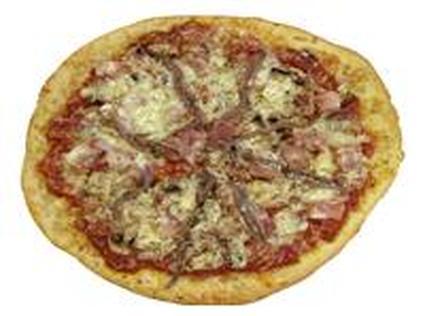 Recette de pizza au jambon et aux anchois