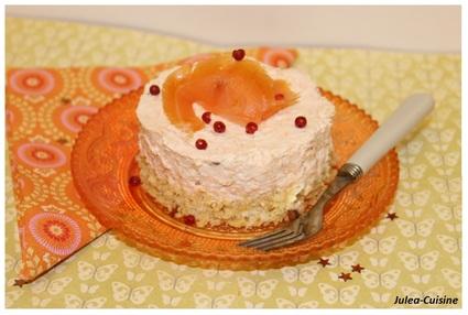 Recette de cheesecake salé au saumon