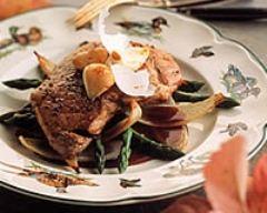 Recette rôti de veau aux asperges