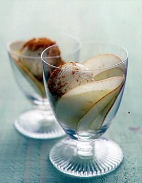 Glace vanille au pain d'épice pour 4 personnes