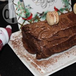 Recette bûche au chocolat et à la poire caramélisée – toutes les ...