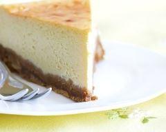 Recette cheesecake sur fond de restes de gâteau au chocolat ...