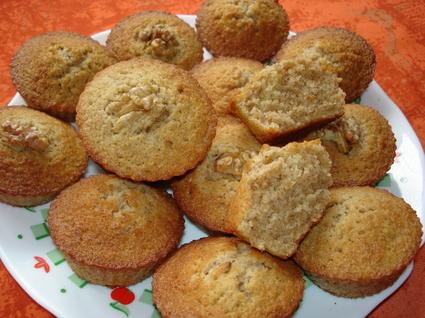 Recette de muffins aux noix et au café