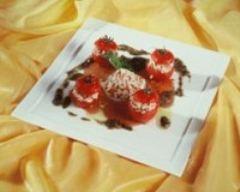 Recette tomates farcies au riz long et escalopes de thon
