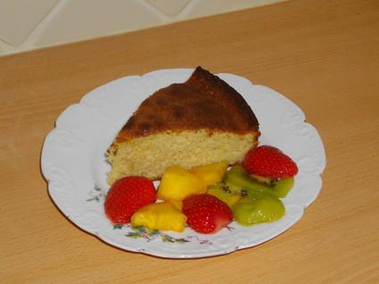 Recette de gâteau à la ricotta façon ti punch