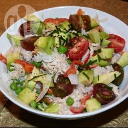 Recette riz au thon et à l'avocat – toutes les recettes allrecipes