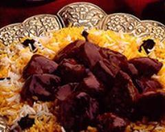 Recette boeuf au caramel et riz aux épices