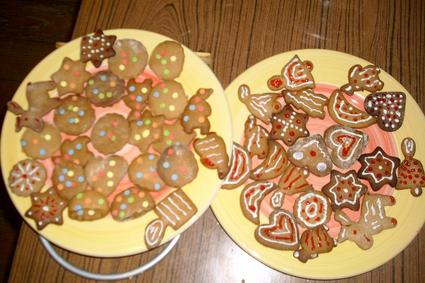 Recette de biscuits en pain d'épice