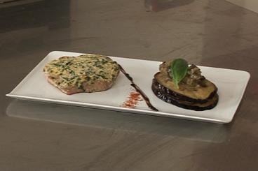 Recette de thon à l'unilatérale de parmigiano reggiano, mille-feuille ...