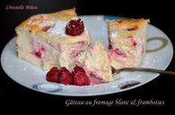 Recette de gâteau au fromage blanc et framboises
