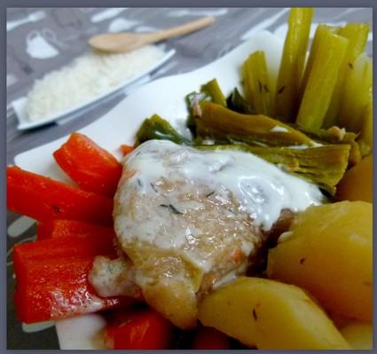 Recette de poule au pot (recette du xvième siècle)