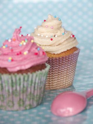 Muffins façon cupcakes à la vanille