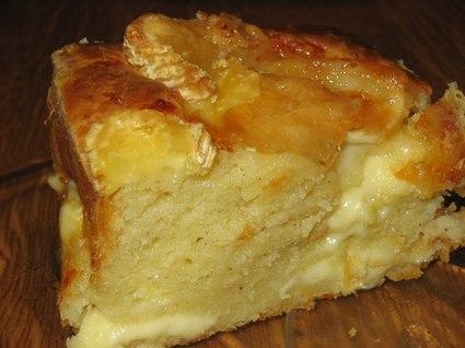 Recette de cake raclette et chèvre
