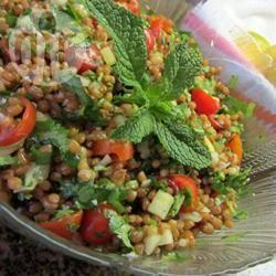 Recette salade grecque au boulgour – toutes les recettes allrecipes