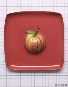 Les pommes au caramel pour 4 personnes