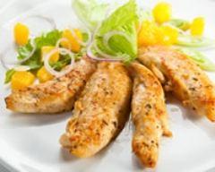 Recette poulet à la mangue