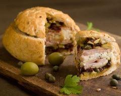 Recette pain surprise aux olives
