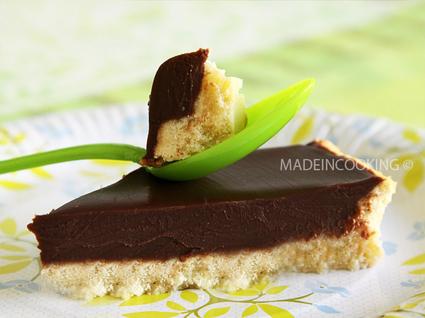 Recette de tarte au chocolat au lait