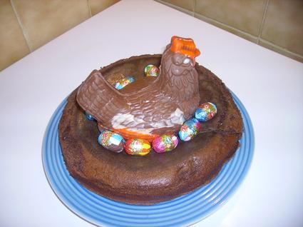 Recette de gâteau façon nid de pâques